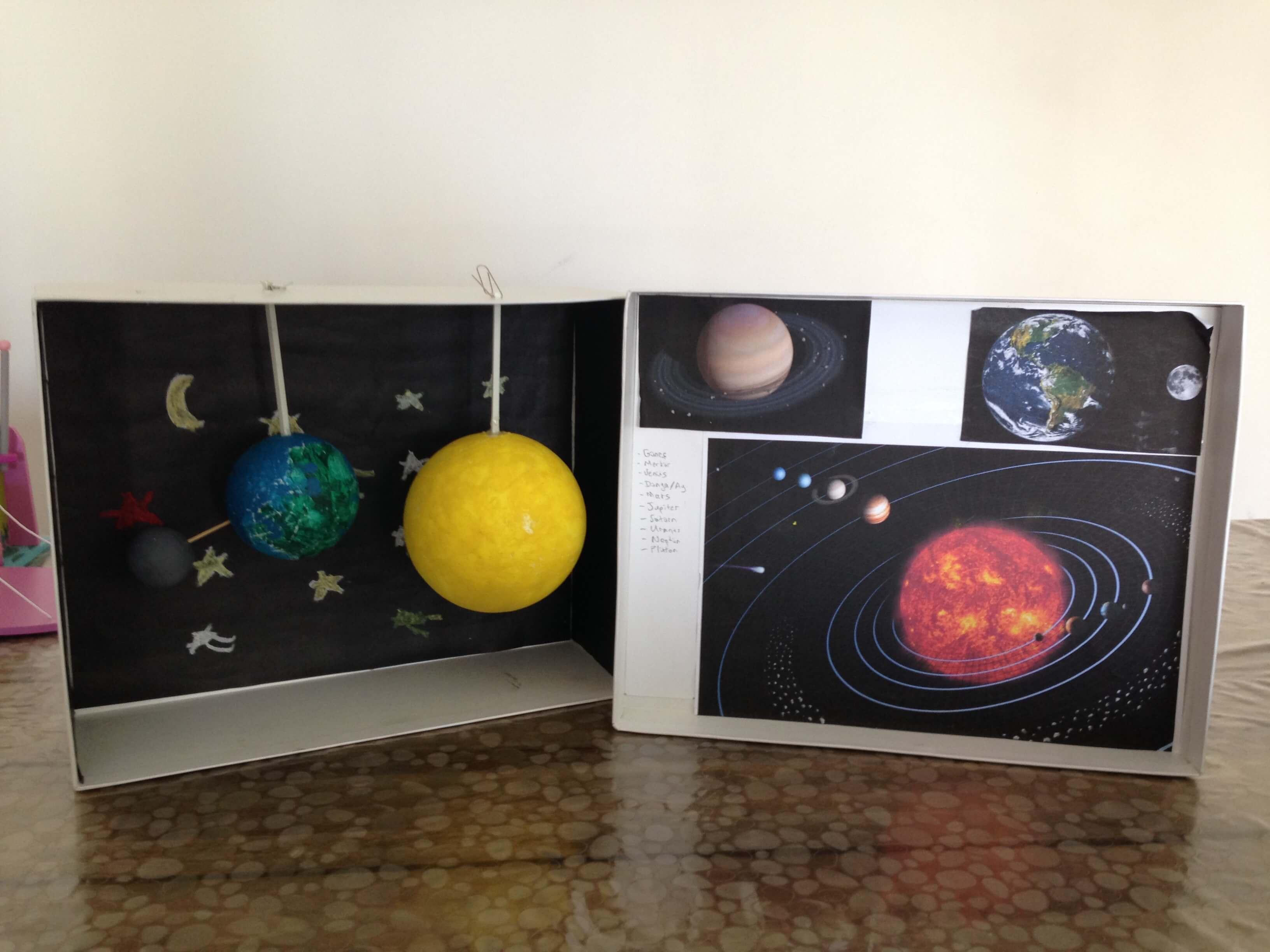 Güneş Dünya Ay Modeli Yapıyoruz Merakyum